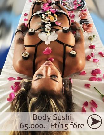 body sushi rendelés