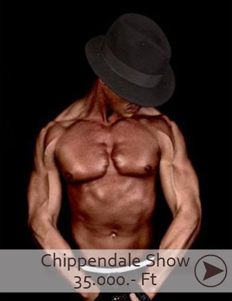 Chippendale show budapest, chippendale táncosok