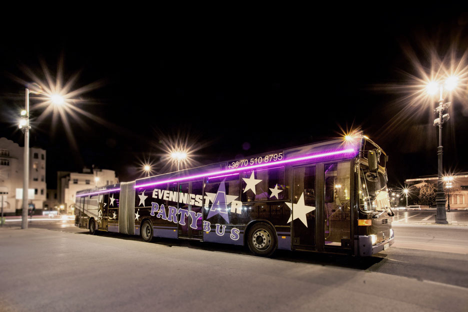 20-50 fős mercedes partybusz