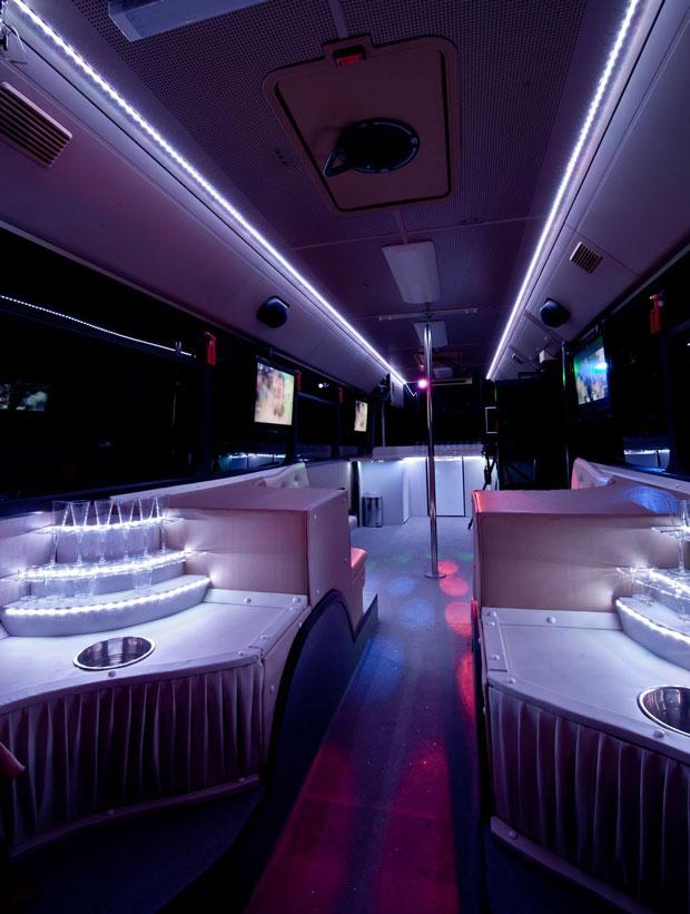 mercedes partybusz belső kép